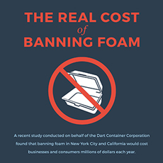 <p>The Real Cost of Banning Foam</p>